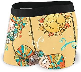 Men's Boxer Briefs Hip Underwear With Comfort Waistband Hand Drawn Dia De Muertos