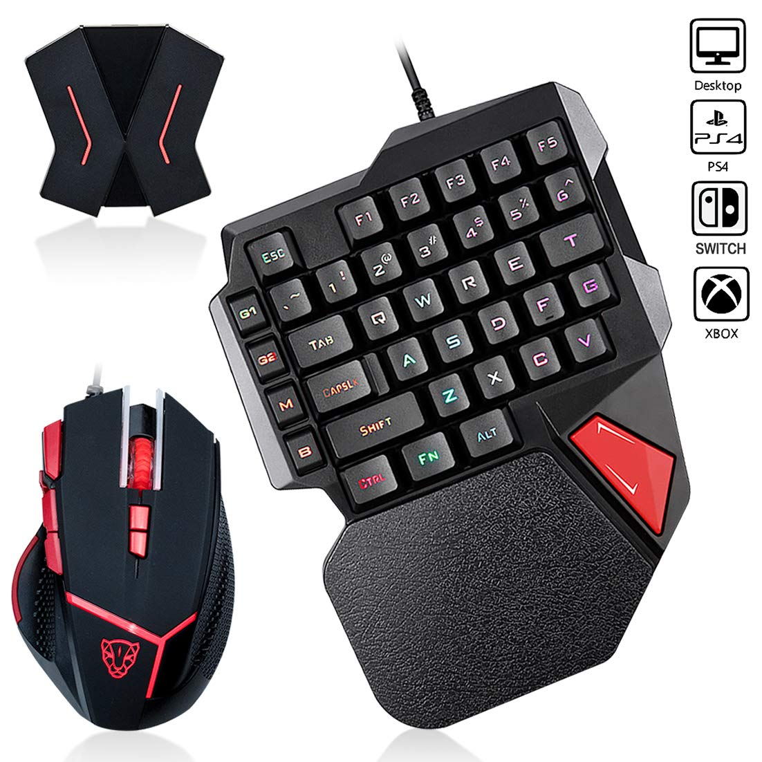 Motospeed Backlit Gaming Keyboard Switch