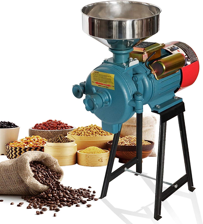 Electric Grain Mill Super popular specialty store Grinder Heavy Dedication 110V Duty Commercial Gr