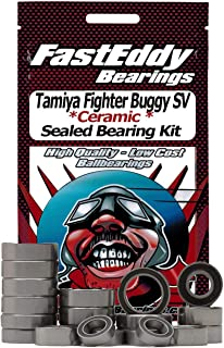 Tamiya Fighter Buggy SV (DT-02) Ceramic Rubber Sealed Ball Bearing Kit for RC Cars