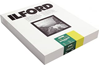 """Ilford Multigrade FB Classic Fiber Based Variable Contrast, Doubleweight Black & White Enlarging Paper 11x14"""", 50 Sheets, Matte - for Printing from Conventional Negatives."""