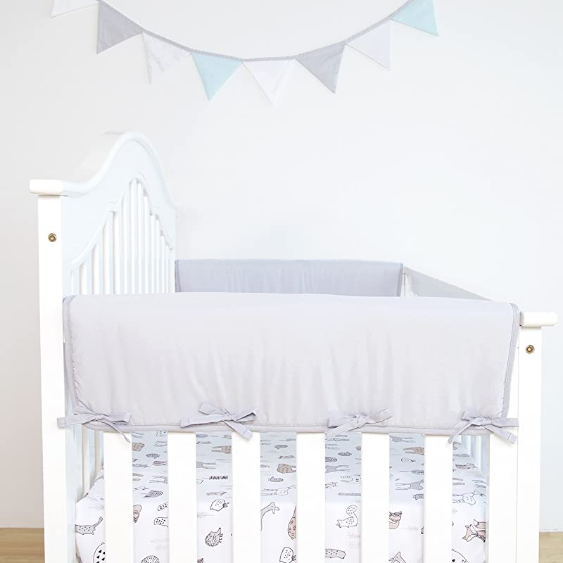 Good Price For Tillyou 2 Pack Padded Baby Crib Rail Cover
