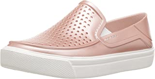 crocs Citilane Roka Metallic Red Girls Shoe