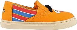 Yellow/Orange Bert and Ernie Face Canvas