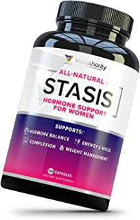 Stasis Estrogen Support Supplement for Women: DIM Supplements with Grape Seed Extract, Folate, Myo-Inositol and D-Chiro In...