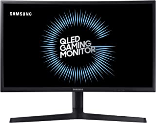 Samsung 27-inch Full HD Curved Gaming Monitor with 2 HDMI and 1 Display Port - LC27FG73FQWXXL (Dark Blue and Black)