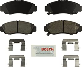 Bosch BE1506H Blue Disc Brake Pad Set with Hardware for 2012-14 Acura TSX and 2011-12 Honda Accord - FRONT