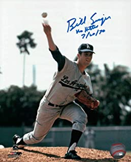 Autographed Bill Singer Picture - with
