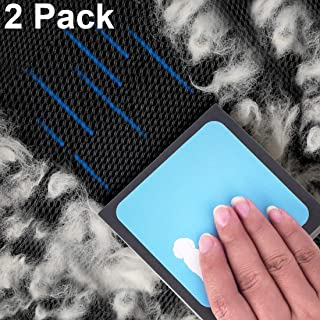 U-pick 2 Pack Pet Hair Remover Cleaner Detailer Remove Invisible Dog Cat Hair Deep Cleaning for Furniture, Carpets Bed Car Seat
