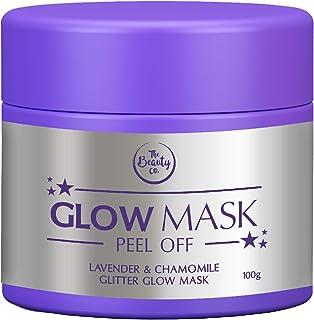 The Beauty Co. Glitter Glow Mask (Lavender Chamomile)