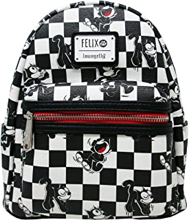 Loungefly x Felix the Cat Checkered Mini Backpack