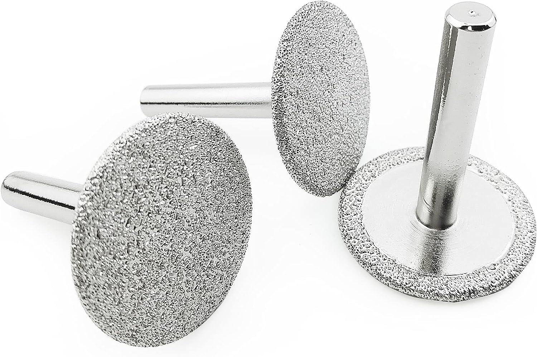 SHDIATOOL 3-Piece 40mm Popular brand Diamond Wheel M for Cutting Free Shipping New Tiles Shaping