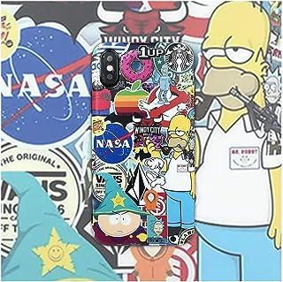 Amazon Com The Simpsons Iphone X Case