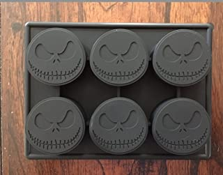 EMES Jack Skellington Nightmare Before Christmas Silicone Pan Candy Chocolate Mold Ice Tray