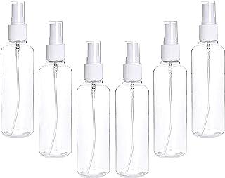 NHW 6 Packs Spray Bottles, 3.38oz/100ml Empty Bottle,with Fine Mist Sprayer.Refillable & Reusable Bottles for Essential Oi...