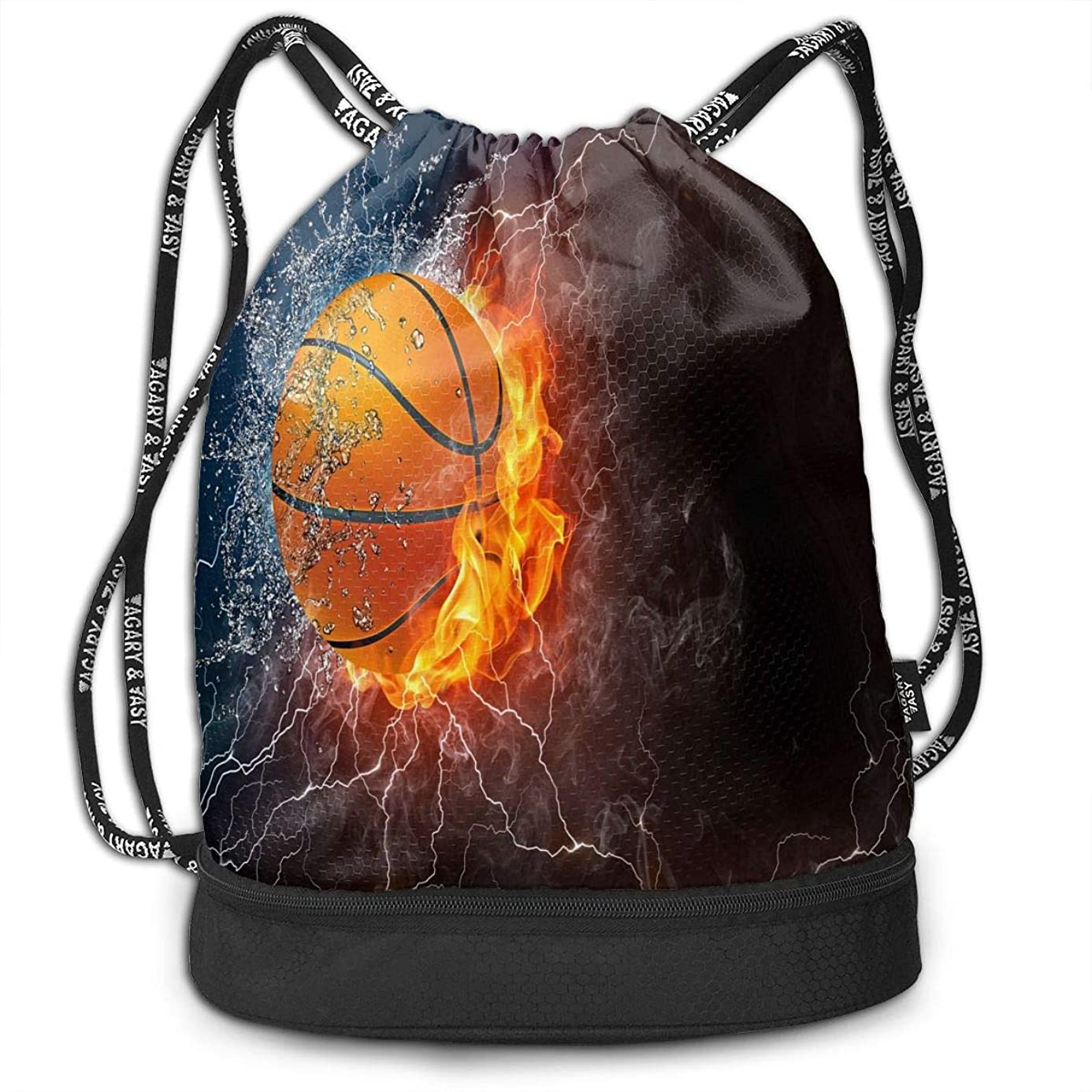 Sport Unisex Bundle Drawstring Backpack Basketball Ball Travel Durable Large Space Gym Sack Personalized Waterproof Multifunction School Backpack pdq4076540