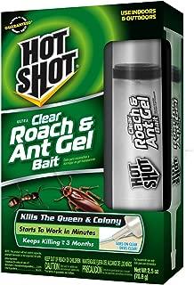 Hot Shot Ultra Clear Roach & Ant Gel Bait HG-95770 (3 Pack)
