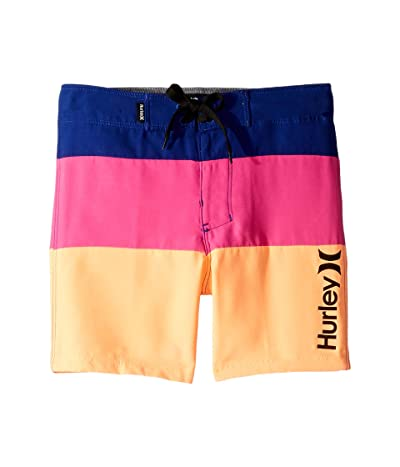 Hurley Kids Triple Threat Boardshorts (Little Kids) (Deep Royal Blue) Boy