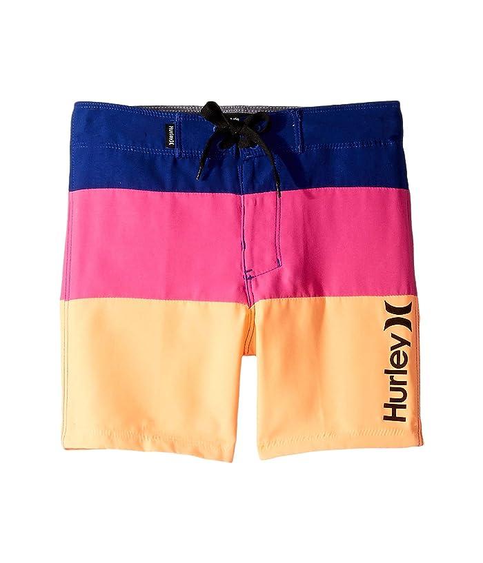 Hurley Kids Triple Threat Boardshorts (Little Kids) (Deep Royal Blue) Boy