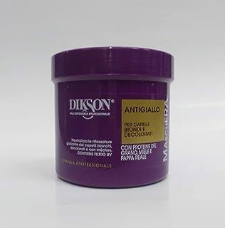 Dikson-Maschera Antigiallo per capelli biondi e decolorati 500 ml