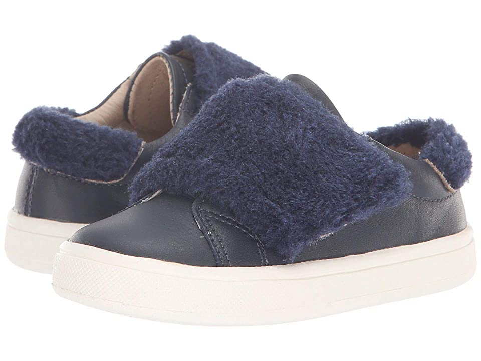 Old Soles Fur Master (Toddler/Little Kid) (Navy/Blue Rinse) Girl