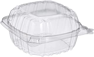 DART C53PST1 OPS 5 in Clear Hinged Container, 5.3 X 5.4 Inches (Case of 500)