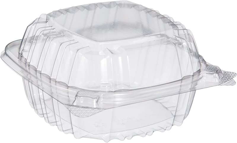 Dart C53PST1 OPS 5 In Clear Hinged Container 5 3 X 5 4 In Case Of 500