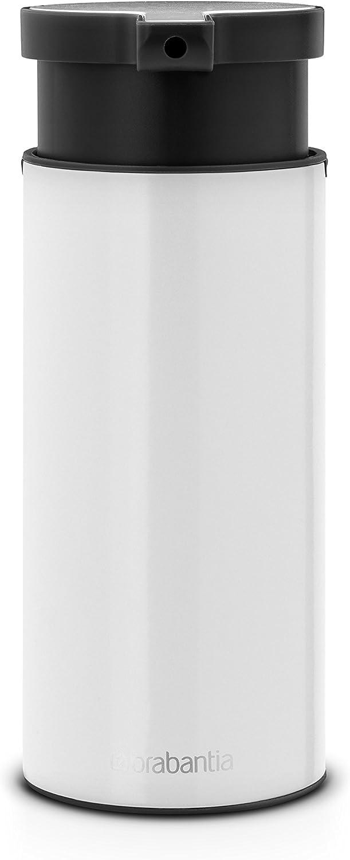 Brabantia 108181 Dispensador de jabón, Blanco, 0.18 L