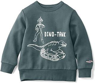 [ベルメゾン] 子ども用 裏毛トレーナー 親子でお揃い ウルトラセブン&恐竜戦車
