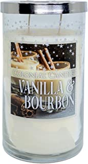 Vanilla and Bourbon Scented Candle