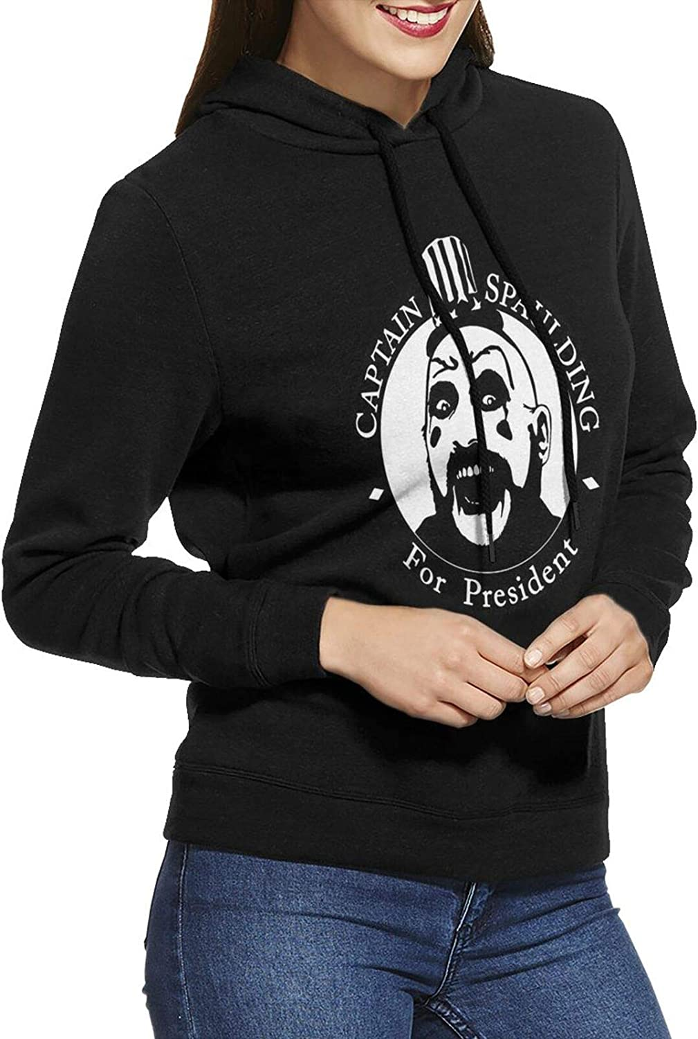 Captain Spaulding Hoodie Popular shop is the lowest price challenge Female Casual Cotton In stock S Long Sweatshirts