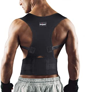 featured product Unigear Back Brace Posture Corrector with Fully Adjustable Straps, Improve Posture and Provide Lumbar Support to Reduce Lower and Upper Back Pains, for Men and Women (X-Large)
