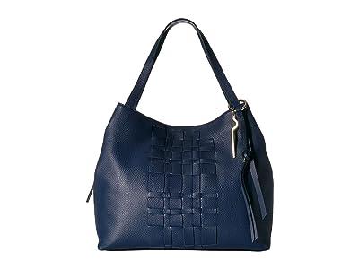 Vince Camuto Lynx Tote (New Blue) Tote Handbags