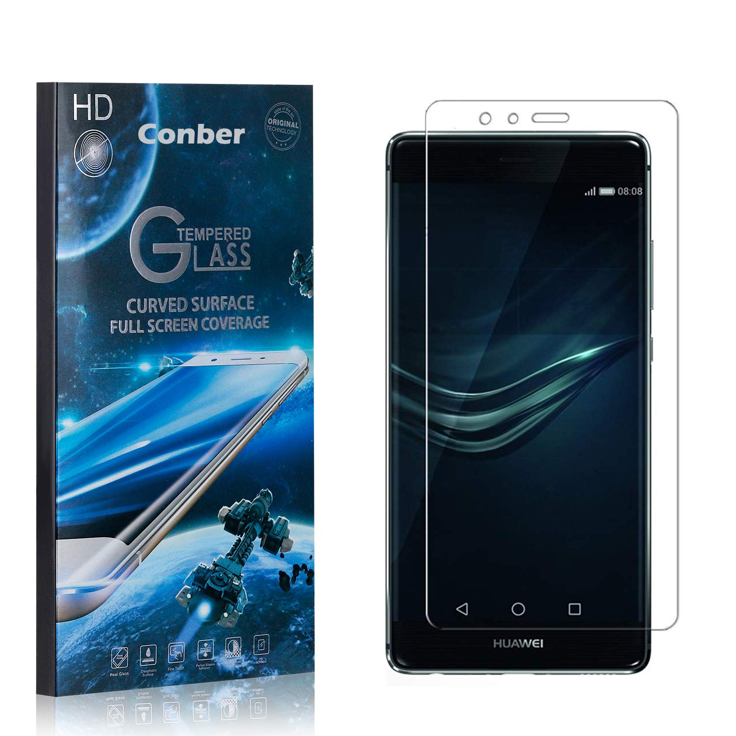 Conber 3 Pack Screen Protector Honor for Scratch-R Huawei Denver New Orleans Mall Mall 6C