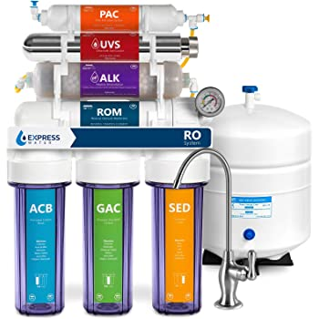 Lead and MORE from Drinking Water Abundant Flow Water DRO-Alpha 5-stage Zoi Alpha Pure RO Water Filter 50 GPD Removes Fluoride Arsenic