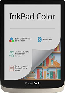 "Pocketbook InkPad Color PB741-N-WW 7,8"", Inkpad Color, 16 GB, Srebrny"