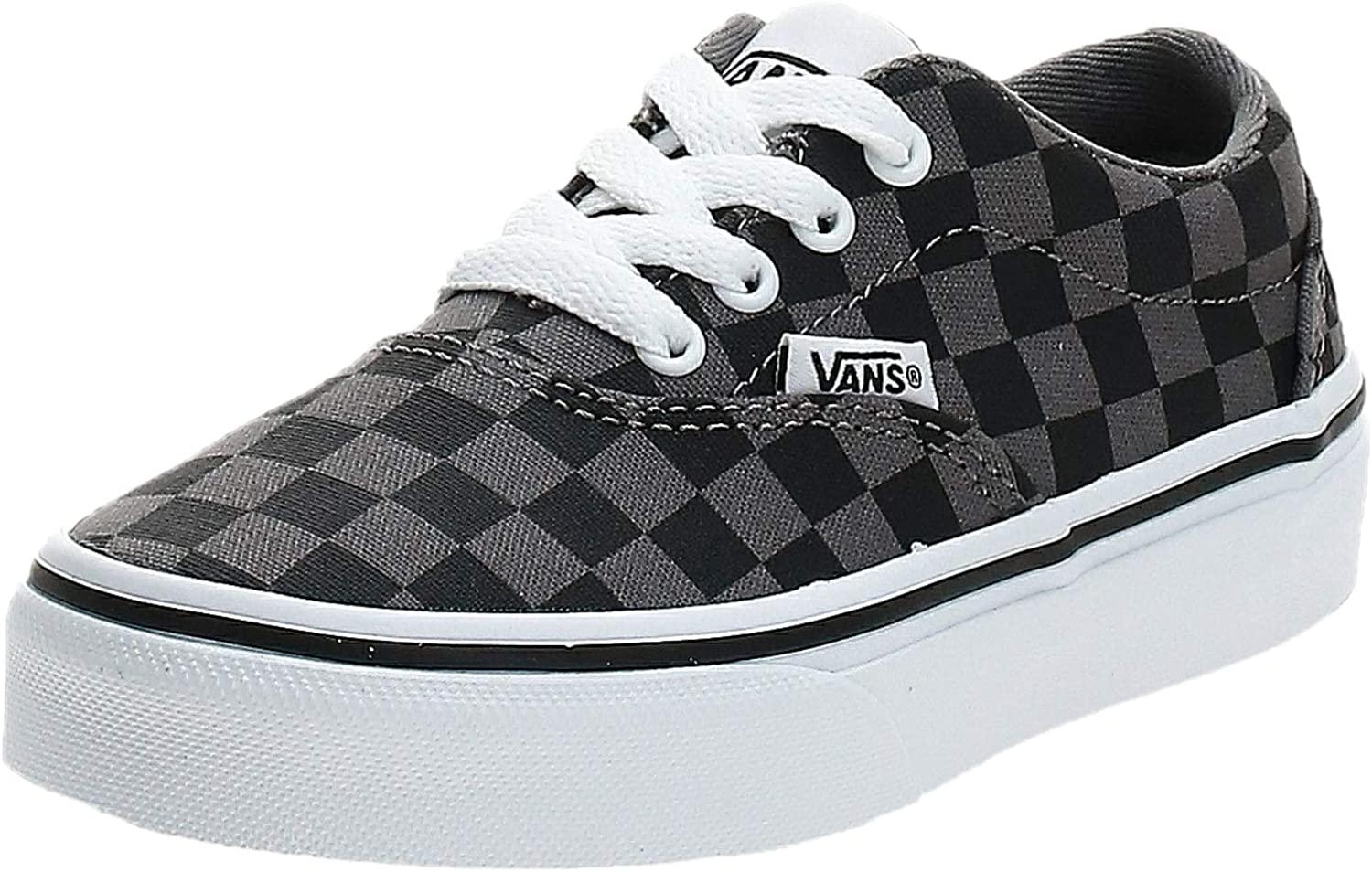 Vans Boy's Doheny Trainers Max 63% Now on sale OFF Pew Sneaker Black Checkerboard