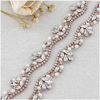 Rhinestone Wedding Belt Women's Crystal Sash Bridesmaid Evening Dresses Bridal Gowns Accessories