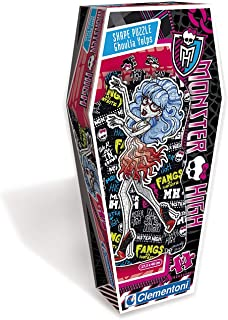 CLEMENTONI 150PCS PUZZLE SHAPE MONSTER HIGH Ghoulia Yelps