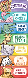 Creative Teaching Press Bookmark Safari Friends Desktop Behavior Clip Charts, Ctp 0698 with