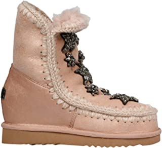 MOU Luxury Fashion Womens FW121004BDUROBE Pink Ankle Boots   Fall Winter 19