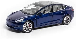 Tesla Diecast 1:18 Scale Model 3 - Deep Blue