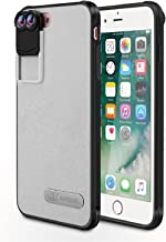 TNP iPhone 8 Plus / 7 Plus Camera Lens 10X + 20X Macro Lens Kit with Protective Phone Case - Multi-Functional Dual Optics Lens Accessories with Smartphone Hard Cover