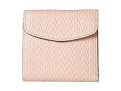 Patricia Nash Twisted Woven Embossed Reiti Wallet (Pink) Wallet Handbags