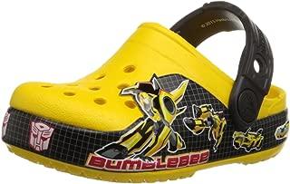 crocs CB Transformers Bumblebee Clog (Toddler/Little Kid), Yellow, 6 M US Toddler