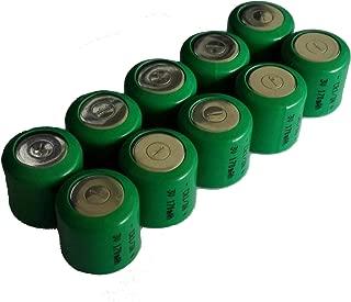 EX-ENERGY Replacement DL1/3N CR1/3N 3V170mAh Lithium Batteries 10 Count Bulk Packaging
