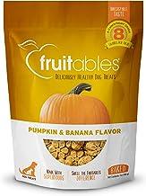 product image for Fruitables Dog Treats | Dog Training Treats | Low Calorie Crunchy Dog Treats | Pumpkin & Banana