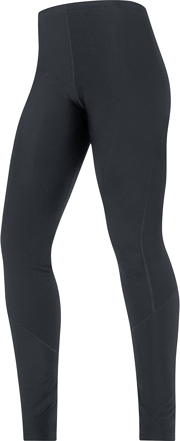 GORE BIKE WEAR Women's Long Warm Thermal Cycling Shorts, GORE Selected Fabrics, LADY Thermo Tights, Size  34, Black, TLELMT