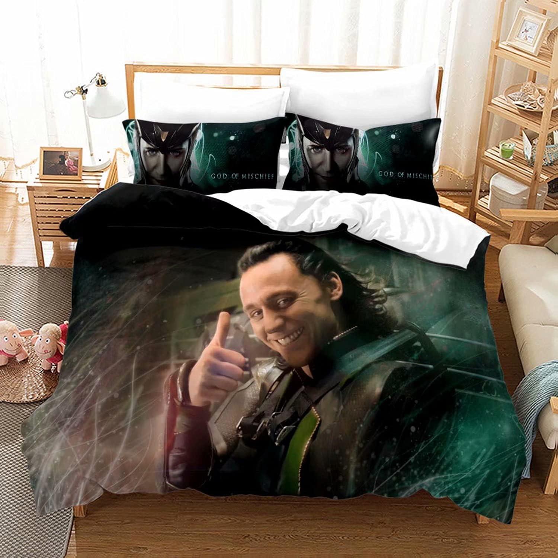 Satauly Loki Bedding Set Kids Decorativ Max Brand new 44% OFF Duvet Cover Bedroom Sets