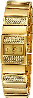 Spectrum Women's Dial Brass Plated Band Watch - 22165L-2
